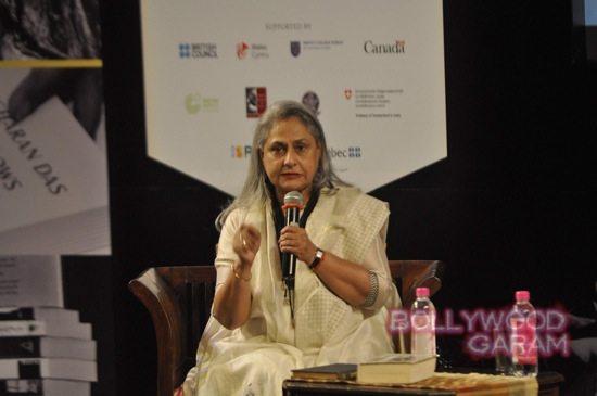 Jaya Bachchan at Tata Lit fest-2