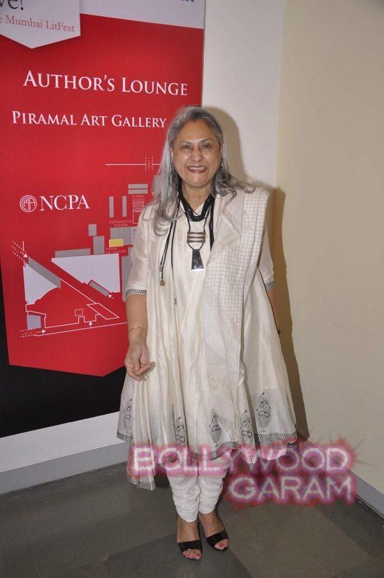 Jaya Bachchan at Tata Lit fest-5