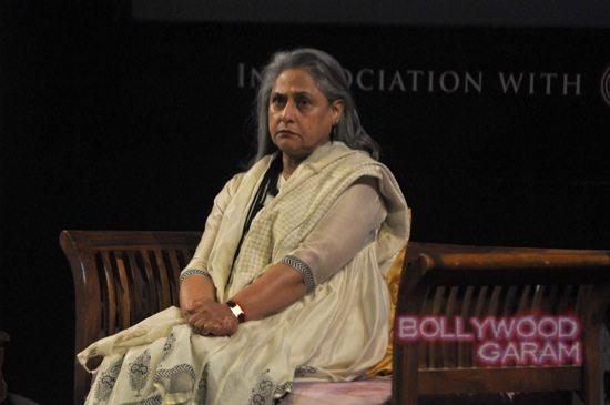Jaya Bachchan at Tata Lit fest