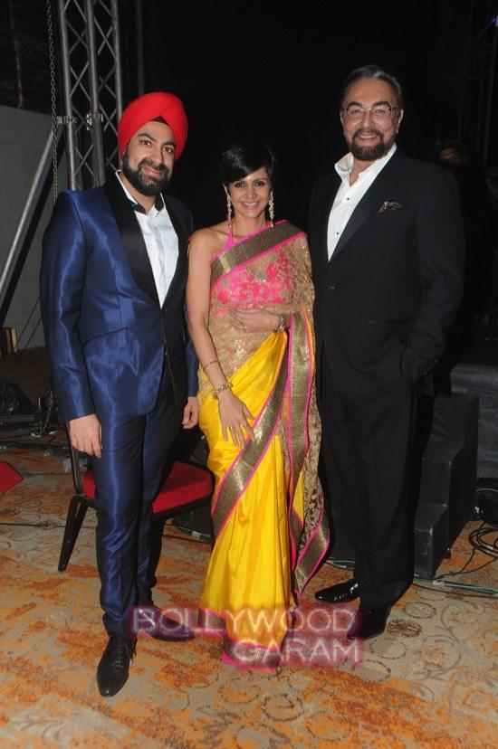 Kabir Bedi and Mandira Bedi_Acetech 2014-3
