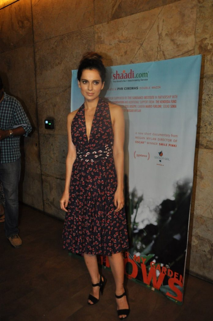 Kangana documentary screning