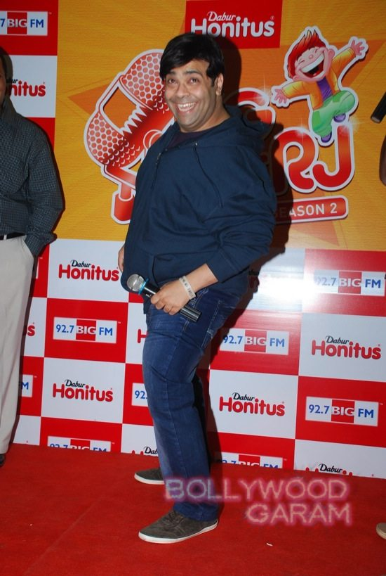 Kiku Sharda promotes big fm jockey hunt-1