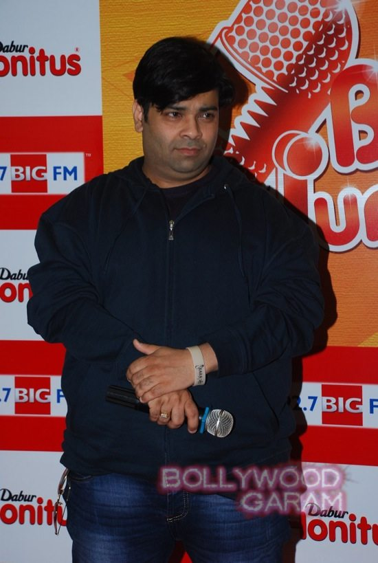 Kiku Sharda promotes big fm jockey hunt
