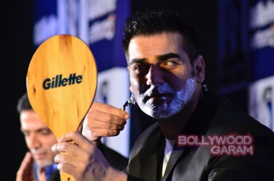 Kriti Sanon-Arbaaz-Khan-Rahul-Dravid-Gillette-10