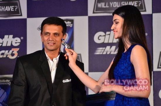 Kriti Sanon-Arbaaz-Khan-Rahul-Dravid-Gillette-12