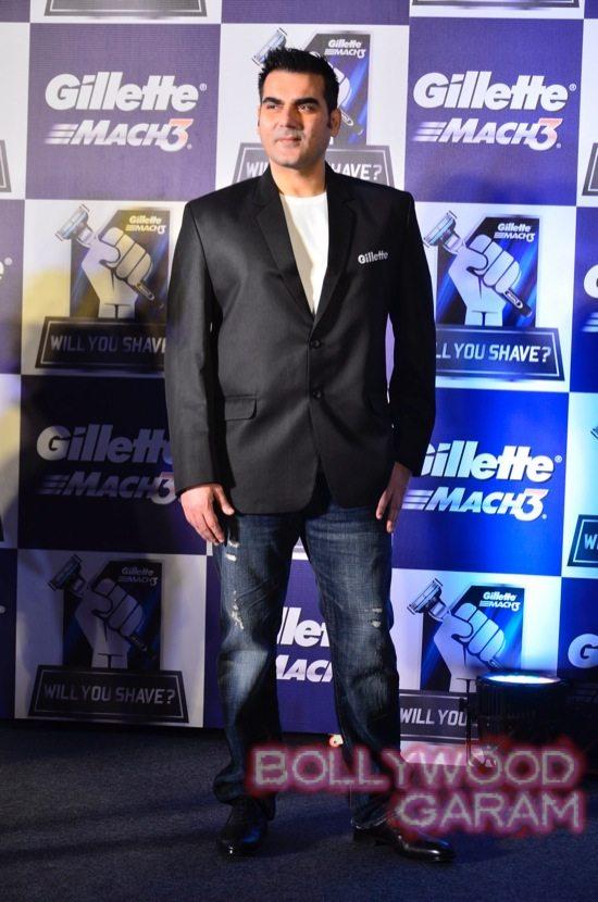 Kriti Sanon-Arbaaz-Khan-Rahul-Dravid-Gillette-9
