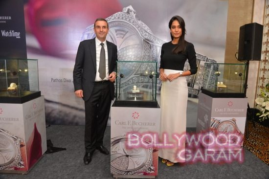 Lisa Haydon at Carl F. Bucherer's Pathos