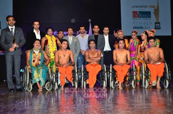MS Dhoni and Zaheer K_positive health awards-21
