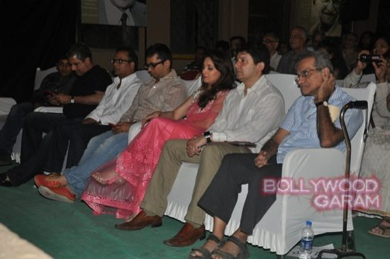 Madhuri and husband attend children performance-1