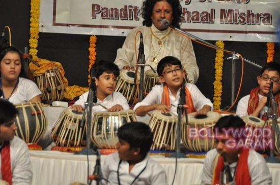 Madhuri and husband attend children performance-5