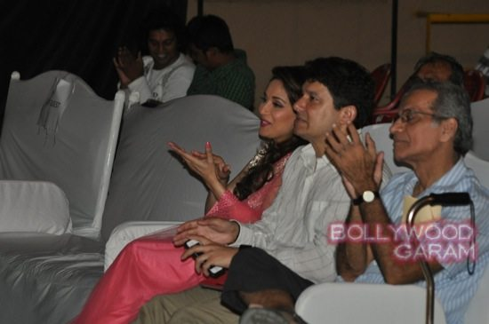 Madhuri and husband attend children performance-6