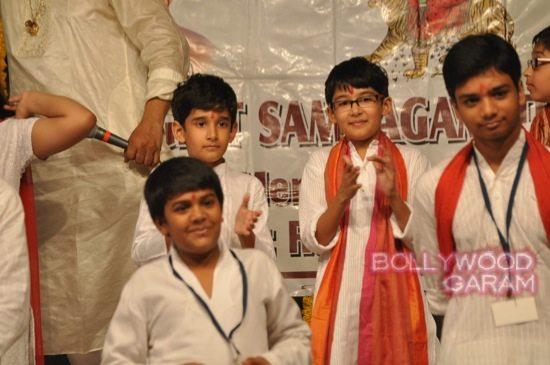 Madhuri and husband attend children performance-7