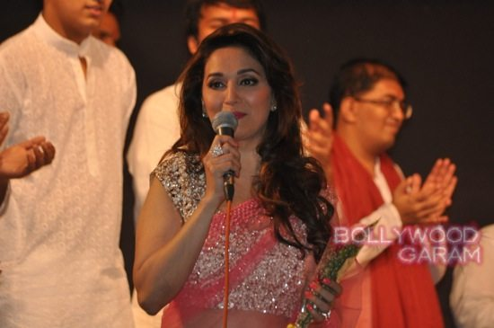 Madhuri and husband attend children performance-8