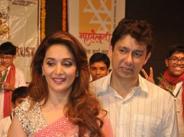 Madhuri Dixit and Dr. Shriram Nene attend show performed by children
