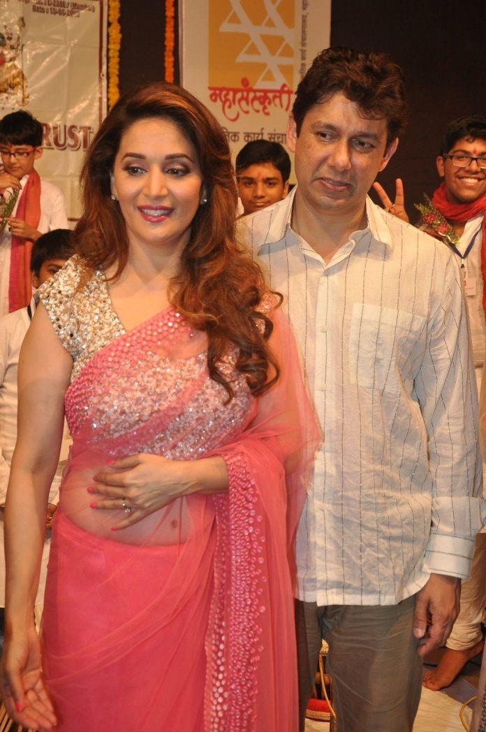 Madhuri with kids