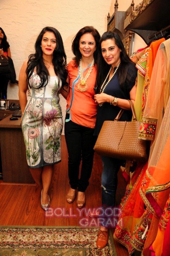 Malini agarwalla new flagship store_Kajol-2