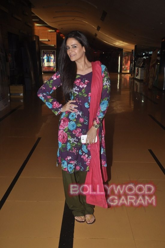 Mona Singh and Hrishita Bhatt at Zed Plus trailer event-1