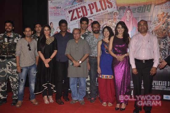 Mona Singh and Hrishita Bhatt at Zed Plus trailer event-14