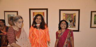 Celebs at Naina Kanodia's painting exhibition