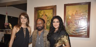 Nandana Sen and Ketan Mehta attend Cosmic Heart Exhibition