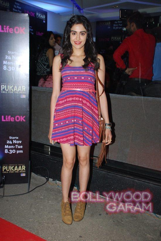 Pukaar tv show launch Ranvijay Adah Sharma-1
