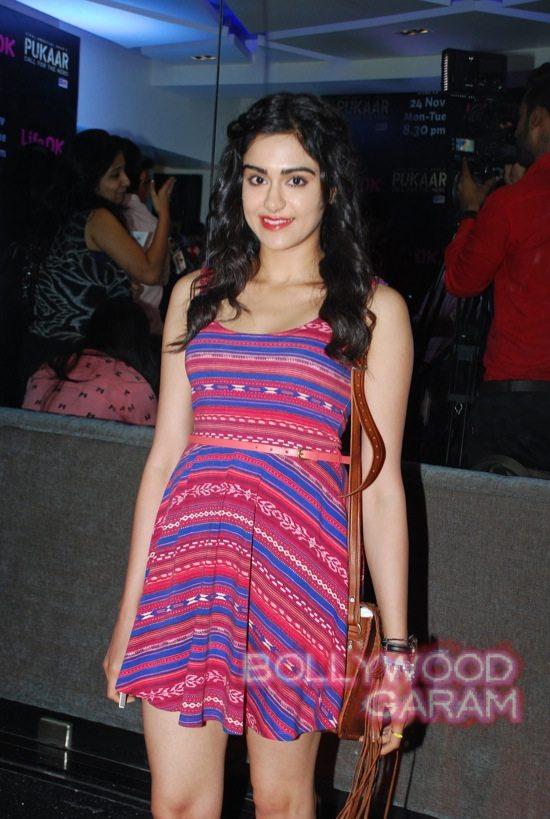Pukaar tv show launch Ranvijay Adah Sharma-2