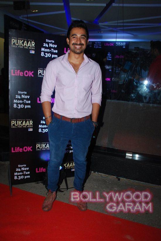 Pukaar tv show launch Ranvijay Adah Sharma-5