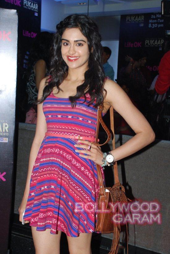 Pukaar tv show launch Ranvijay Adah Sharma
