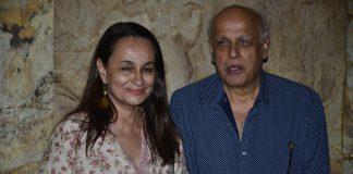 Mahesh Bhatt and Nandana Sen at 'Rang Rasiya' special screening