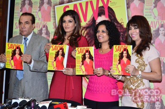Raveena Tandon Savvy cover magazine-9