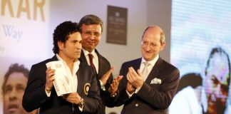 Sachin Tendulkar launches his autobiography Playing it My Way