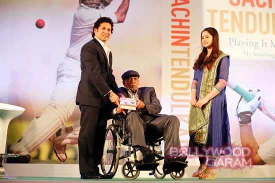 Sachin autobiography launch-4