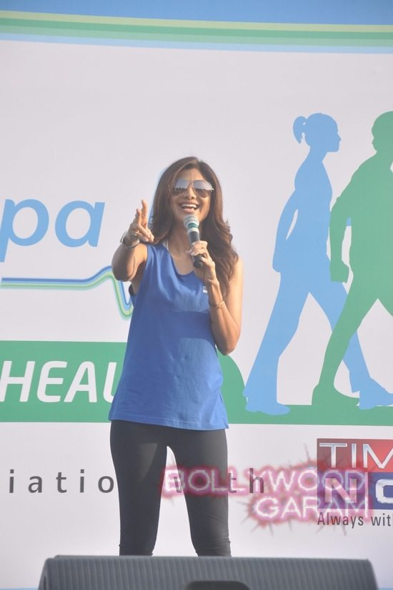 Shilpa Shetty at running event-4