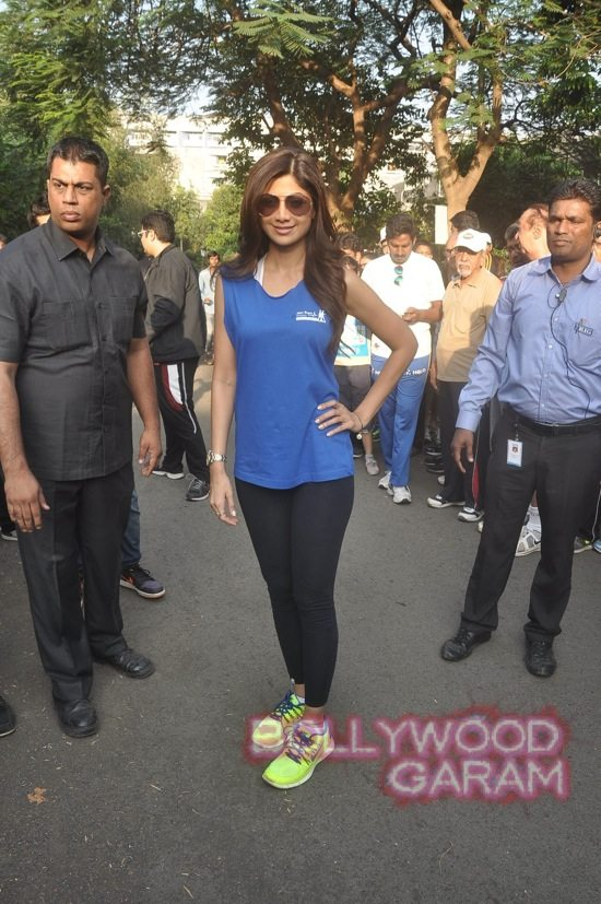 Shilpa Shetty at running event-6