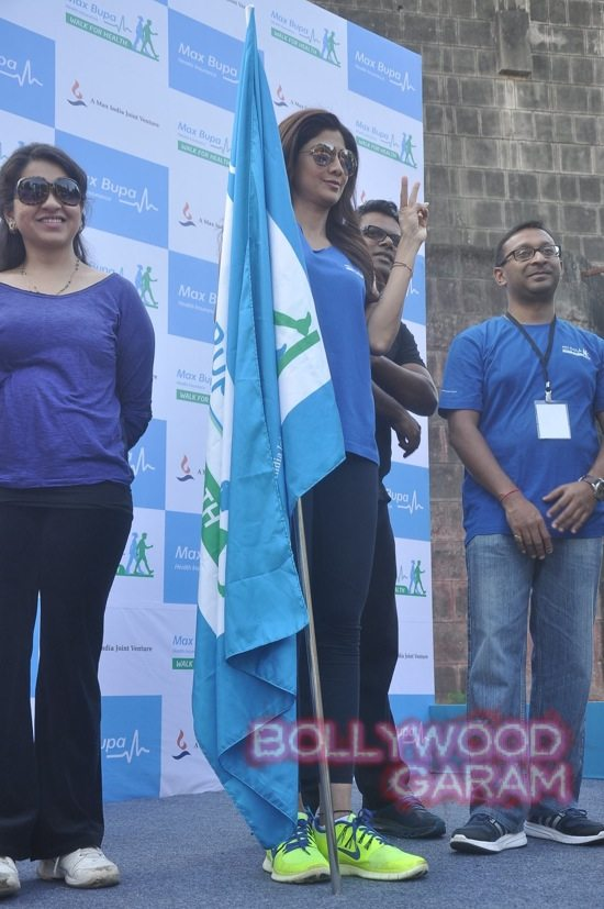 Shilpa Shetty at running event-7
