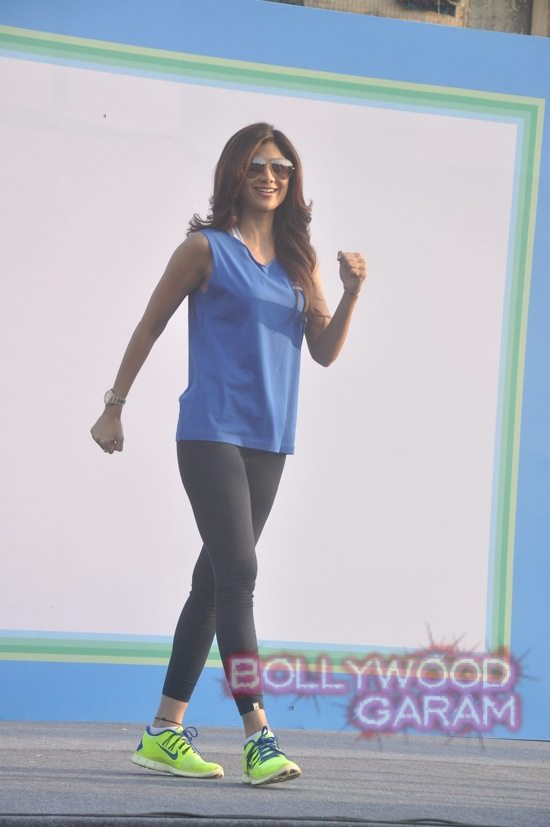 Shilpa Shetty at running event