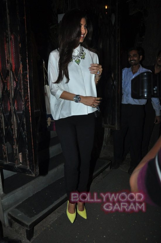 Shilpa shetty and Raj K_Tabu birthday-2
