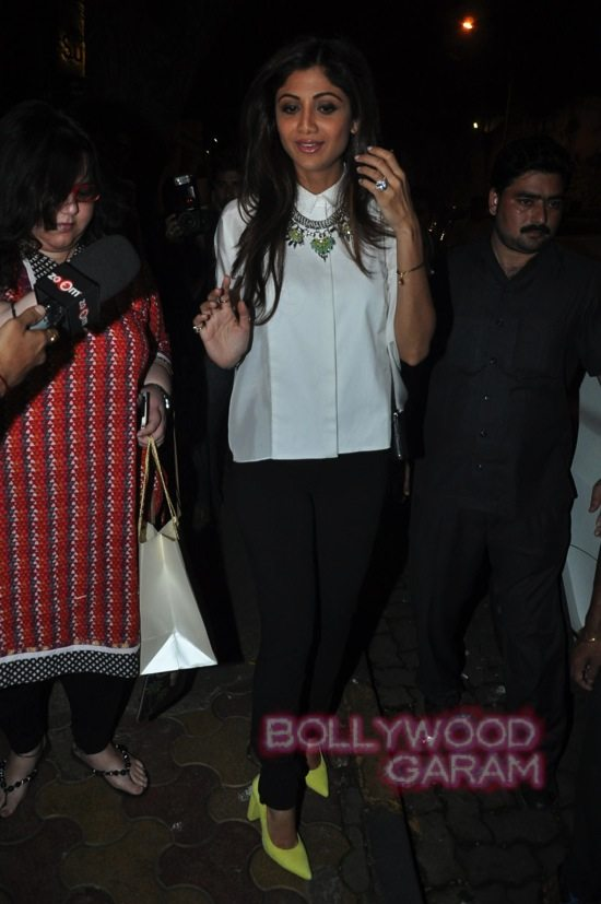 Shilpa shetty and Raj K_Tabu birthday-4