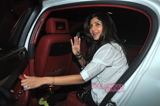 Shilpa shetty and Raj K_Tabu birthday-7