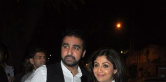 Shilpa Shetty and Raj Kundra attend Tabu's birthday bash