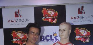 Sonu Sood at Raj Joshilay bash