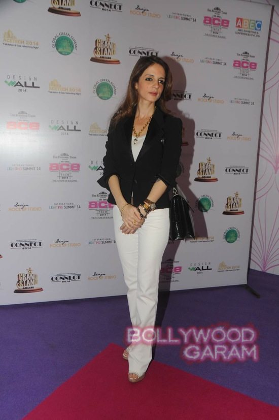 Sussanne Khan at ace exhibition