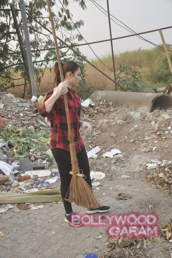 Tamannah takes part in swacch bharat campaign-1