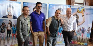 Akshay Kumar and Anupam Kher promote The Shaukeens in Delhi