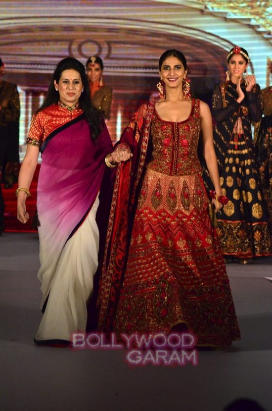 Vaani Kapoor showstopper at Royal Fable show-18
