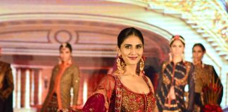 Vaani Kapoor turns showstopper at Royal Fable show