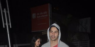 Varun Dhawan with friends at Juhu