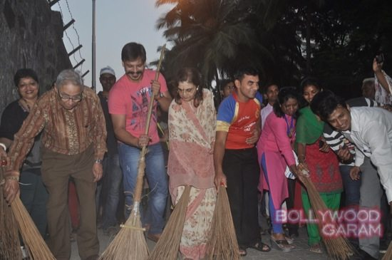 Vivek Oberoi clealiness campaign-6