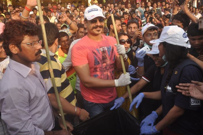 Vivek cleanliness drive