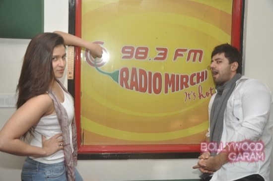 Zid actors Radio Mirchi-7